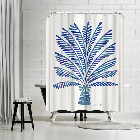 Americanflat Palm Tree Navy By Cat