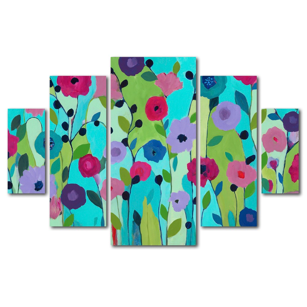 'Spring Returns' by Carrie Schmitt Ready to Hang Multi Panel Art Set, Multi-Colored
