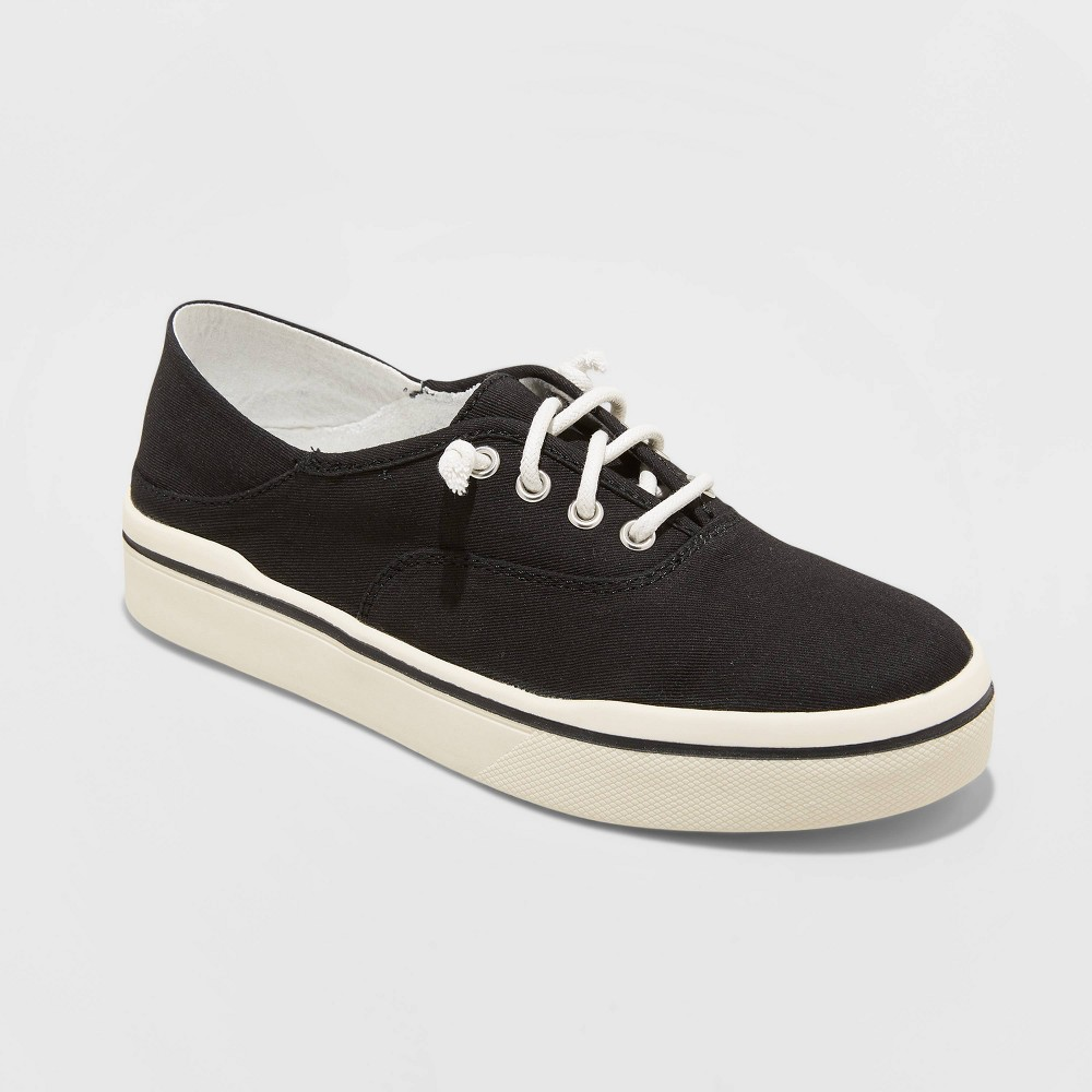 Women's Mad Love Kendra Lace Up Canvas Sneakers - Black 12 was $24.99 now $17.49 (30.0% off)