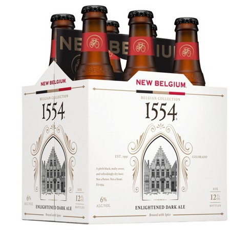 New Belgium 1554 Black Ale Beer - 6pk/12 fl oz Bottles - image 1 of 1
