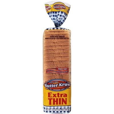 Butterkrust Extra Thin White Bread - 20oz