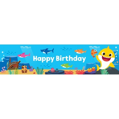 Birthday Express Baby Shark Baby Shark Banner