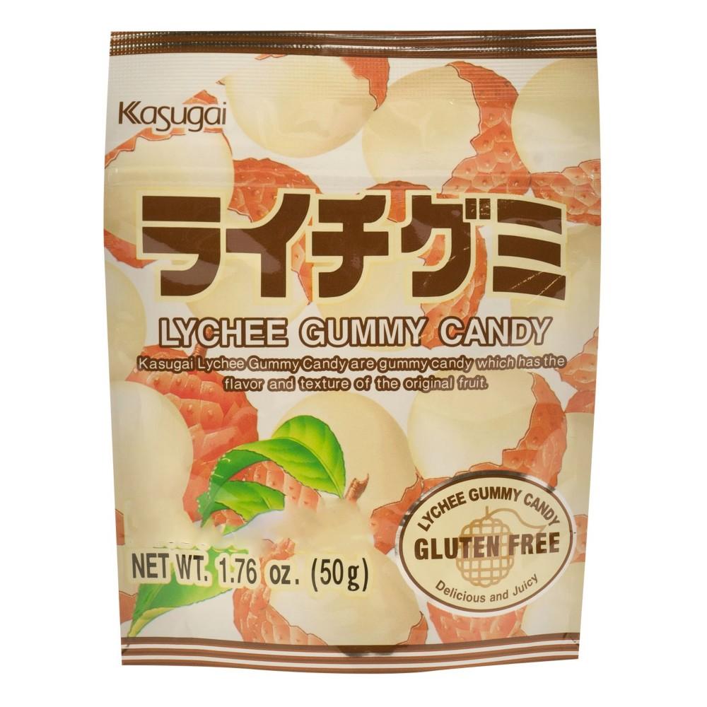 Kasugai Lychee Gummy Candy 1 76oz