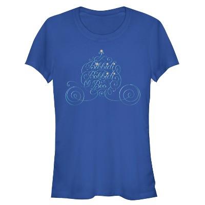 Junior's Cinderella Bibbidi Bobbidi Boo T-Shirt