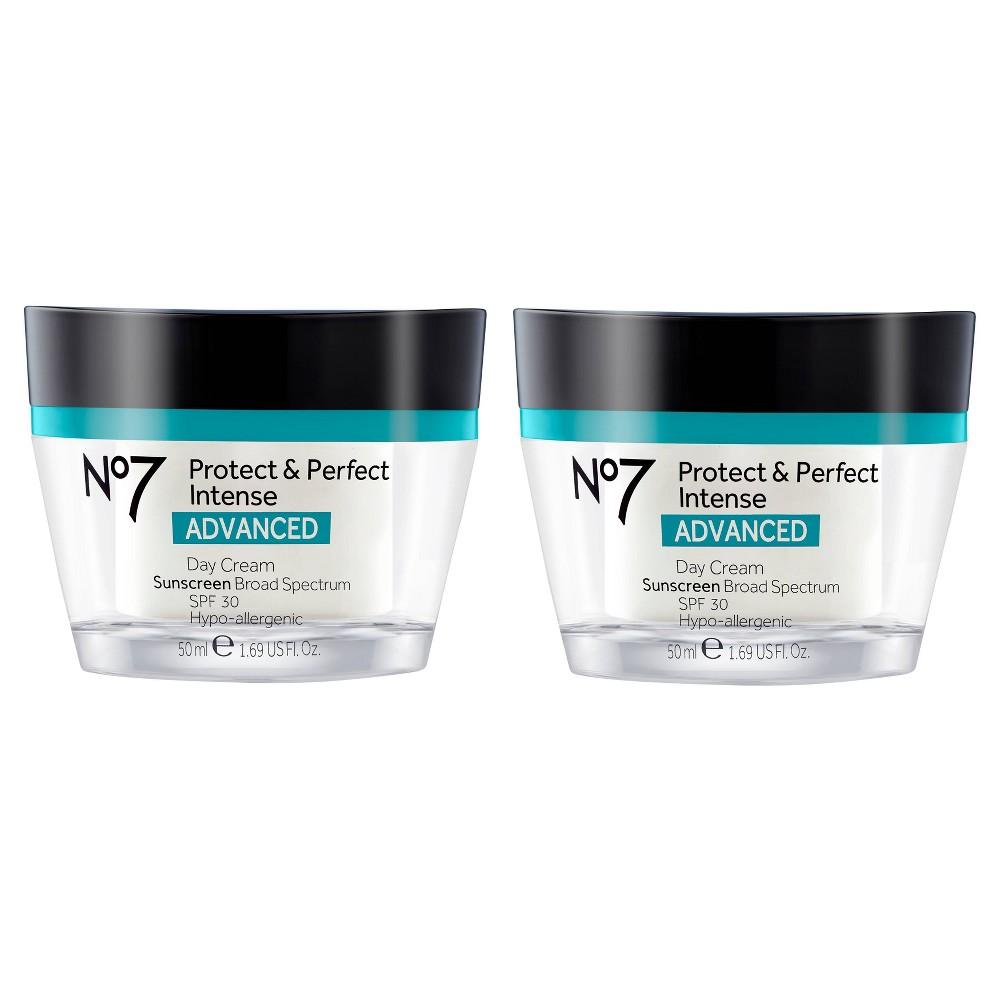 No7 Protect & Perfect Intense Advanced Day Cream SPF 30 - 1.6oz - 2ct