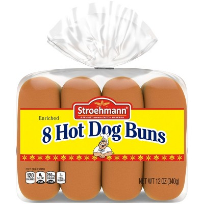 Stroehmann Hot Dog Buns - 11oz