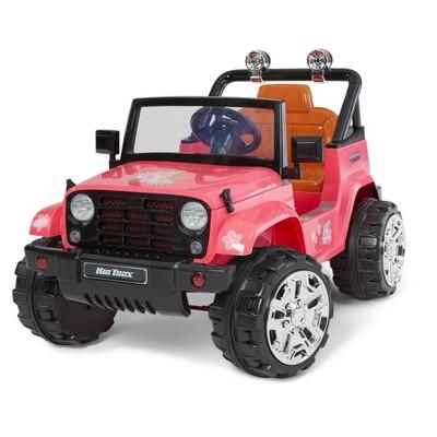 Kid Trax 6V Beach Cruiser 4x4 Powered Ride-On - Pink