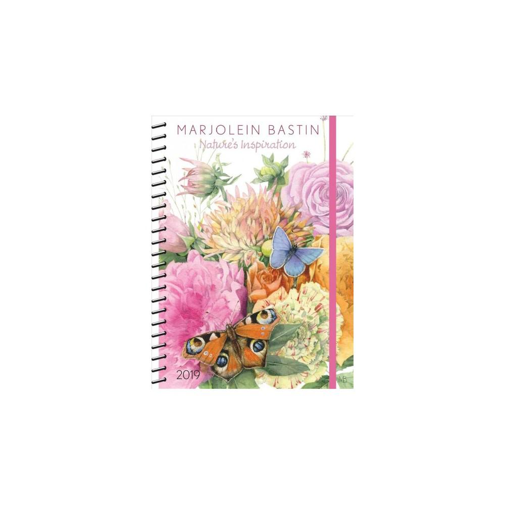 Nature's Inspiration 2019 Calendar - by Marjolein Bastin (Paperback)