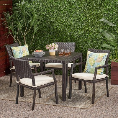 Rhode Island 5pc Square All Weather, Outdoor Furniture Rhode Island