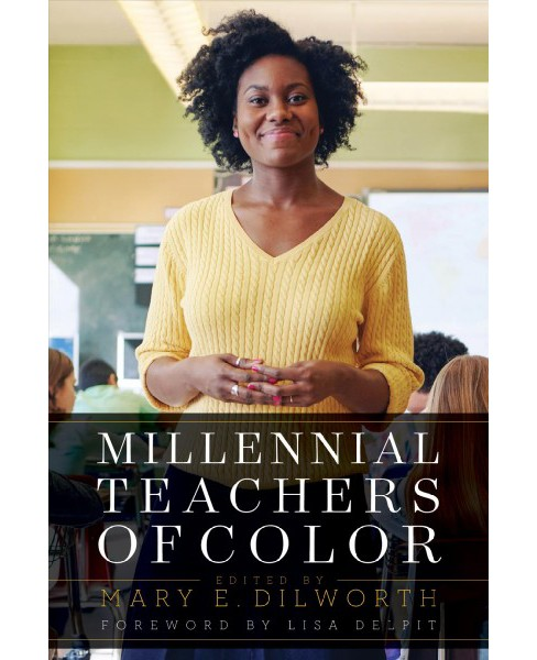 Millennial Teachers of Color -  (Race and Education) (Paperback) - image 1 of 1