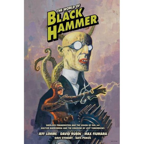 The World of Black Hammer Library Edition Volume 1 - by Jeff Lemire (Hardcover)