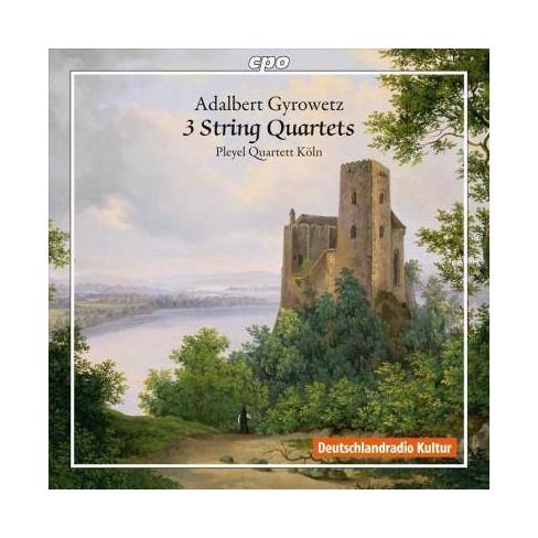 Adalbert Gyrowetz - Gyrowetz: 3 String Quartets (CD) - image 1 of 1