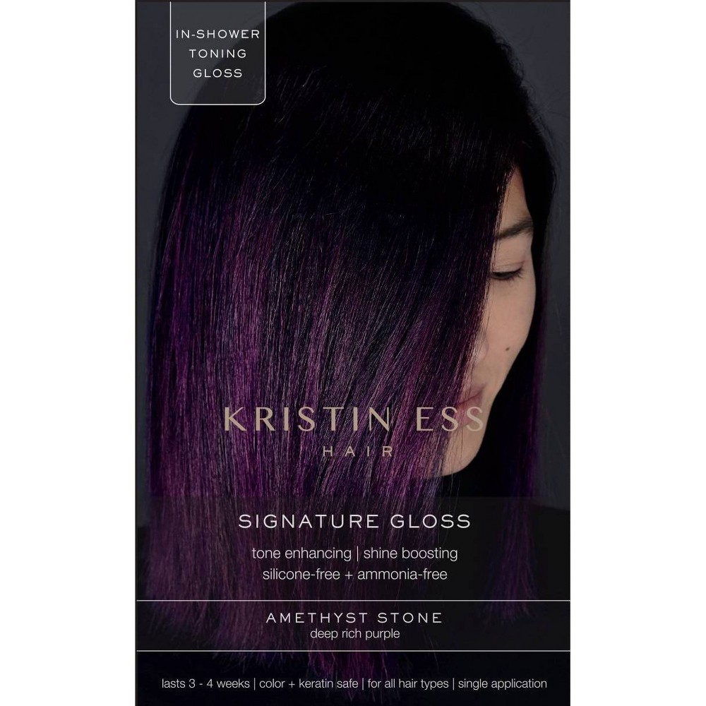 Kristin Ess Signature Hair Gloss Amethyst Stone