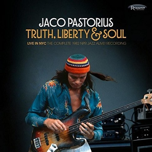 Jaco Pastorius - Truth Liberty & Soul:Live In Nyc Comp (CD) - image 1 of 1