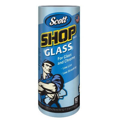 Paper Towels: Scott Shop Glass