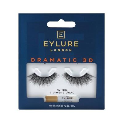 Eylure False Eyelashes Dramatic 3D No. 196 - 1pr