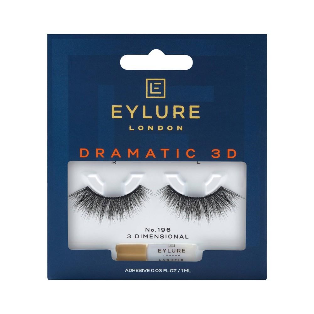Image of Eylure False Eyelashes Dramatic 3D No. 196 - 1pr
