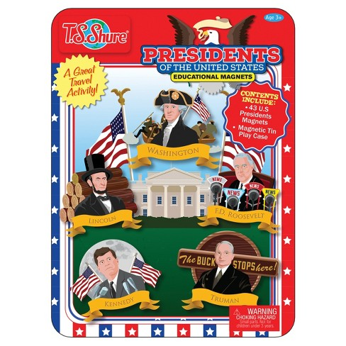 T.S. Shure - Presidents Of The United States Magnetic Tin Playset - image 1 of 1
