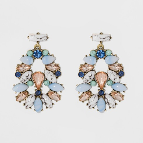SUGARFIX by BaubleBar Mixed Media Drop Earrings - image 1 of 4