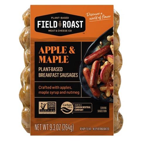 Field Roast Vegan Apple Maple Breakfast Sausage - 9.3oz/12ct - image 1 of 4