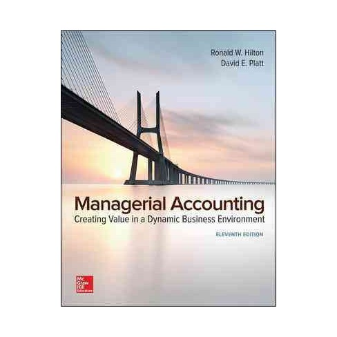 managerial accounting hilton global edition