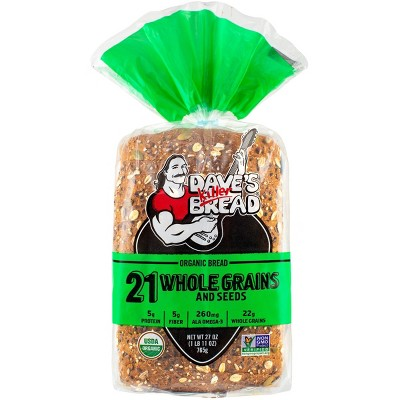Dave's Killer Bread Organic 21 Whole Grains and Seed Bread - 27 oz