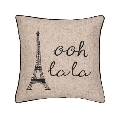 "C&F Home 20"" x 20"" Ooh La Paris Embroidered Pillow"