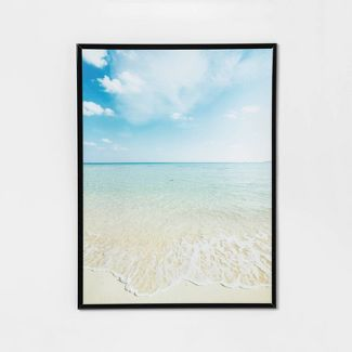 18u0022 x 24u0022 Tube Profile Poster Frame Black - Room Essentials™
