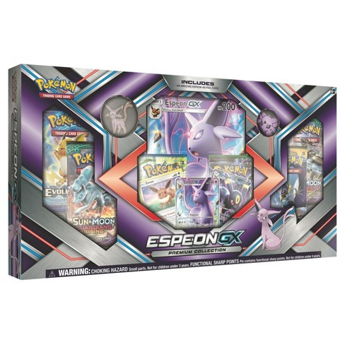2017 Pokemon Trading Card GX Premium Box featuring Espeon - image 1 of 2