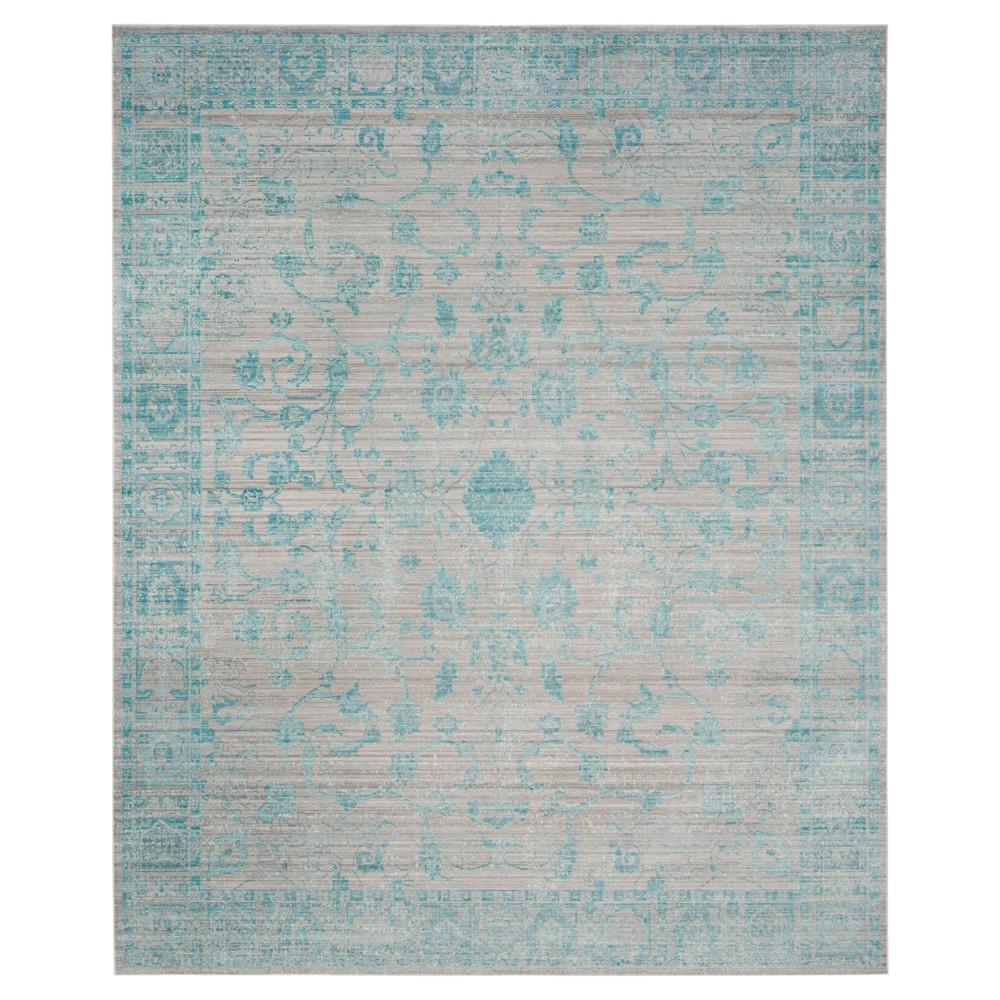 Valencia Rug - Blue- (8'x10') - Safavieh, Blue/Beige