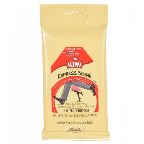 KIWI Express Clean and Shine Wipes 15ct - image 1 of 4
