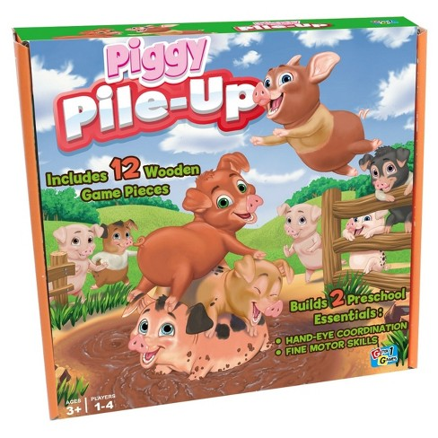 Piggy Pile-Up Board Game - image 1 of 4