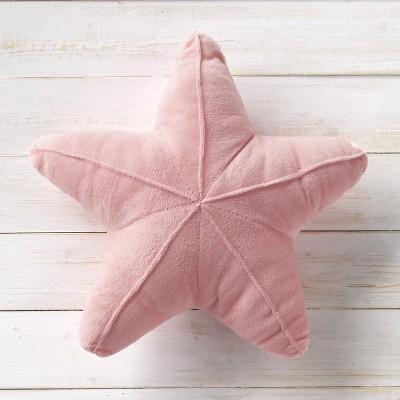 Lakeside Starfish Shape Plush Pillow - Coastal Bedroom Accent for Kids