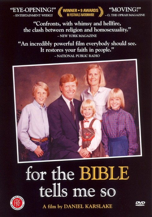 For the bible tells me so (DVD) - image 1 of 1