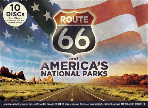 Route 66 and America's National Parks [10 Discs] [DVD/CD] - image 1 of 1