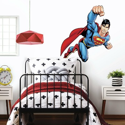 Superman Day of Doom Peel and Stick Giant Wall Decal - RoomMates