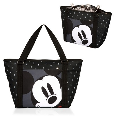 Picnic Time Disney Mickey Mouse Cooler Tote Bag - Black