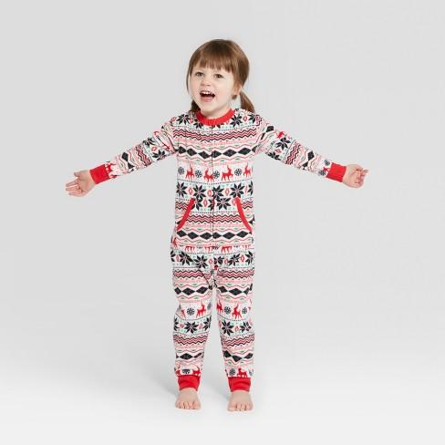 6e7c32c6ed Toddler Holiday Fair Isle Union Suit - Wondershop...   Target