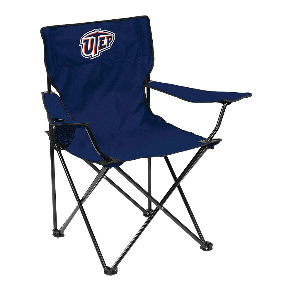NCAA Utep Miners Logo Brands Portable Chair with Carrying Case