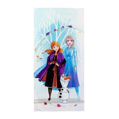 Frozen Swirl Beach Towel Blue - Disney
