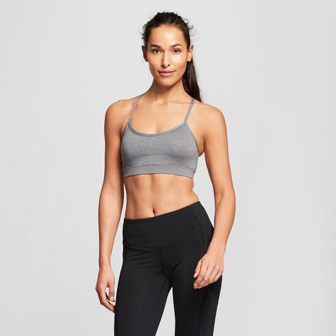 0154570421 Women s Criss-Cross Strappy Back Cami Sports Bra - C9 Champion®