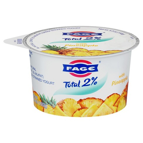 Fage Low Fat Greek Yogurt with Pineapple - 5.3oz - image 1 of 1