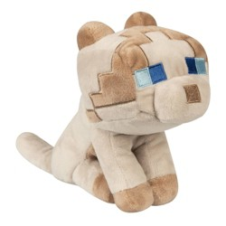 Minecraft Happy Explorer Rag Doll Cat Plush