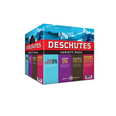 Deschutes Brewery Variety Pack - 12pk/12 fl oz Bottles