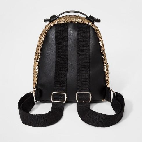 ef18b5cf7ca8 Girls  Sequin Mini Backpack - Art Class™ Gold   Target