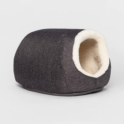 Dog & Cat Cave/Bed - Gray - Small - Boots & Barkley™