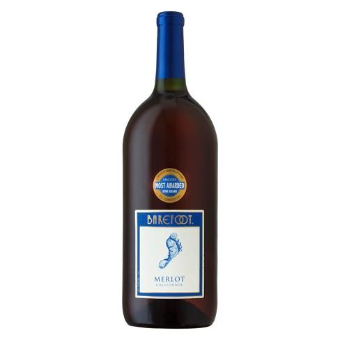 Barefoot Merlot Red Wine - 1.5L Bottle - image 1 of 1