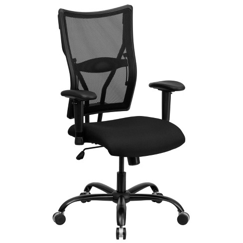Hercules Series 400 Lb Capacity Tall Executive Swivel Office Chair Black Mesh Flash Furniture Target