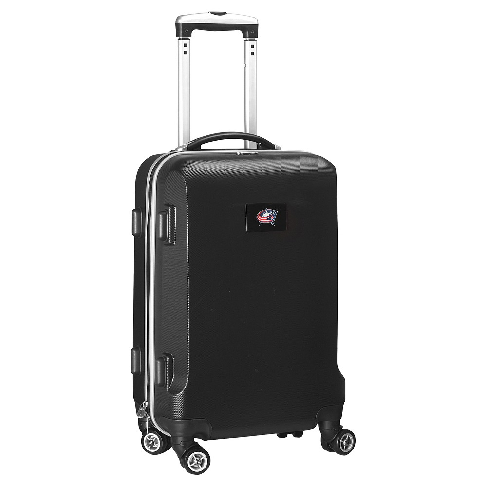 NHL Mojo Columbus Blue Jackets Hardcase Spinner Carry On Suitcase - Black