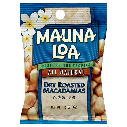Mauna Loa Dry Roasted Macadamia Nuts - 1.15oz - image 1 of 1